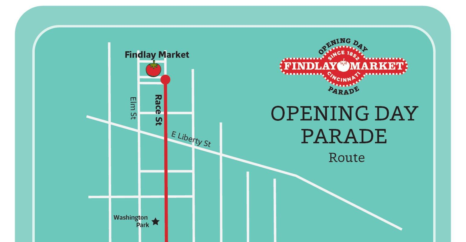 Opening Day Parade Route Findlay Market Parade